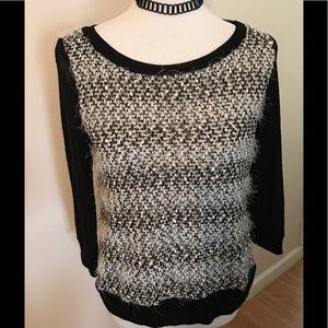 Fuzzy sweater by lovemaker